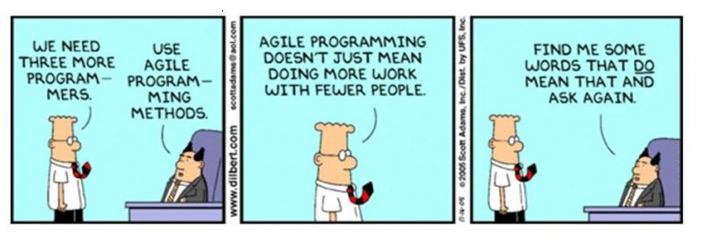 Agile in the real world — no rules?